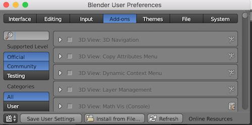 Distributing Blender Scripts and Addons via npm